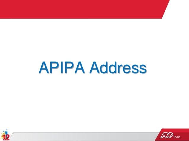 India APIPA Address