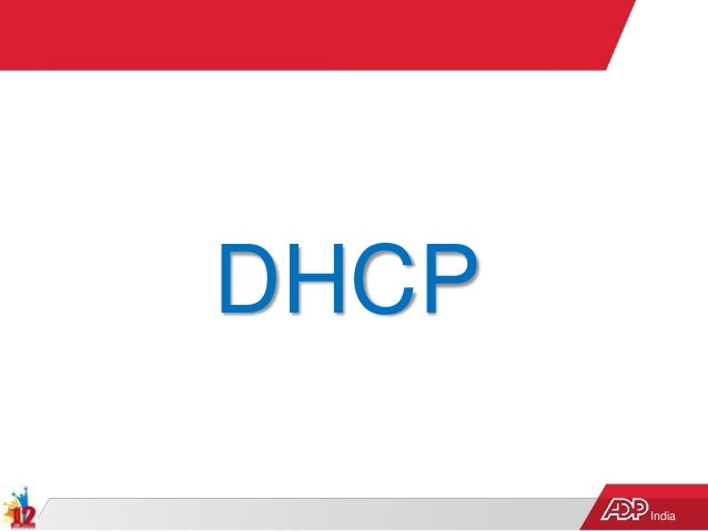 India DHCP