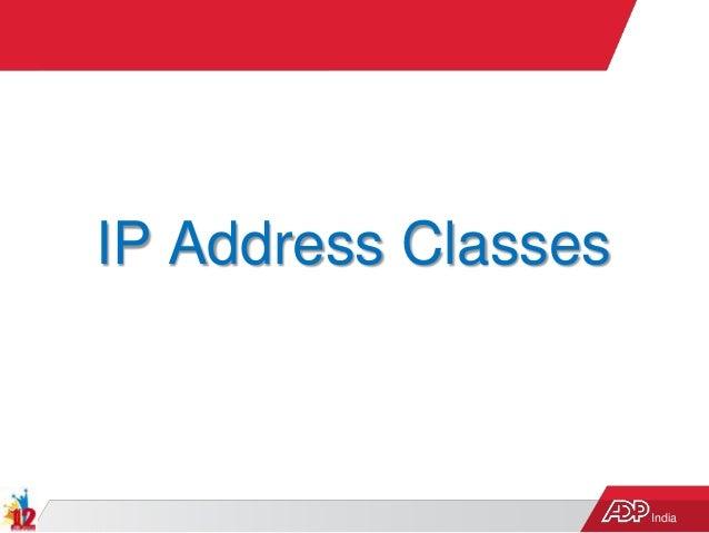 India IP Address Classes