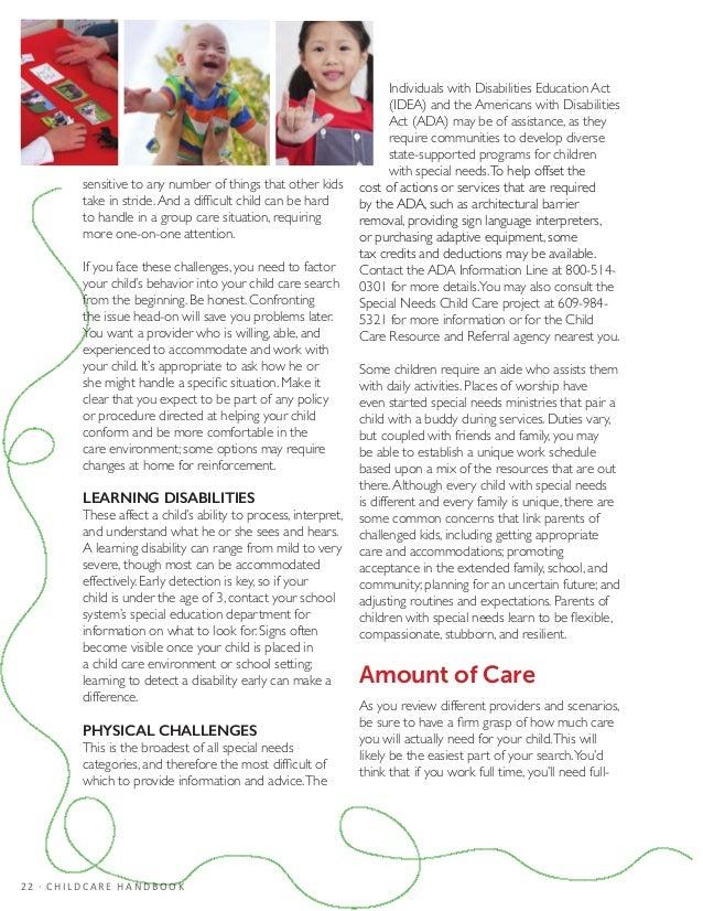 Final Child Care Handbook PDF