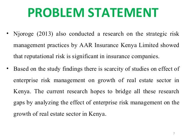 Phd research proposal risk management