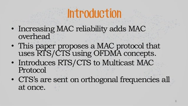 thesis on mac protocols This protocol is based on the s-mac protocol and overcomes the s-mac protocol by less energy consumption in terms of idle listening  in contrast to the s-mac, this protocol keeps the listening session in a variable length, which depends on the network load.