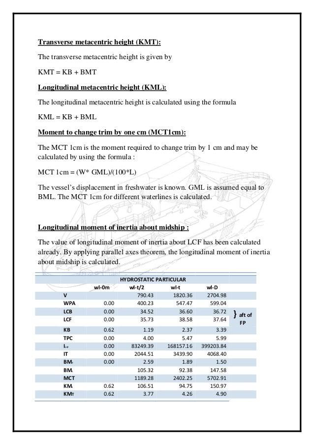 Trawler report