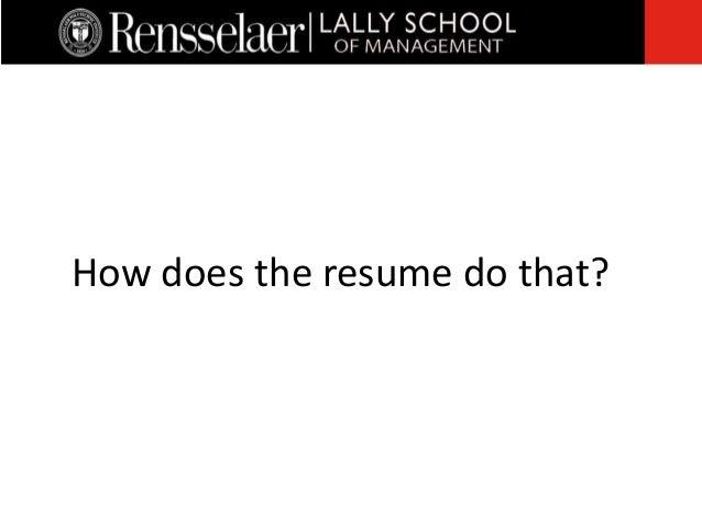 how do a resume