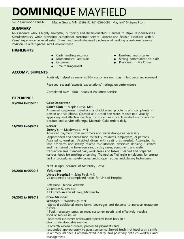 dominique mayfield resume docx 2016