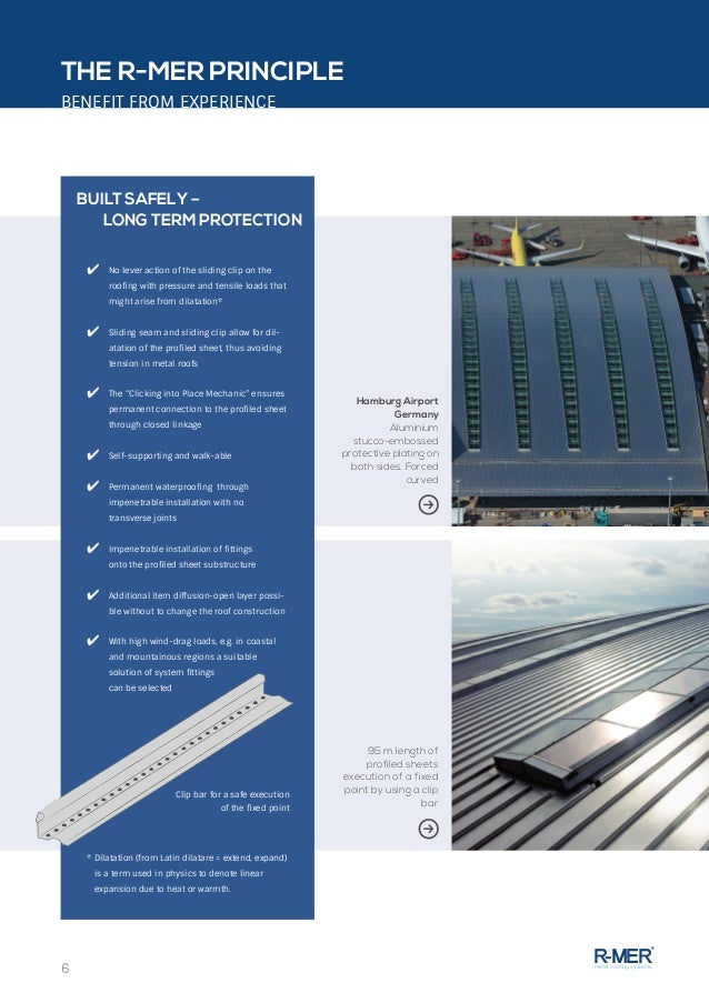 R Mer Metal Roofing Systems System At A Glance
