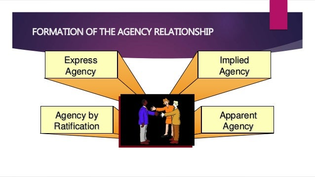 an agency relationship can only be formed with a written agreement