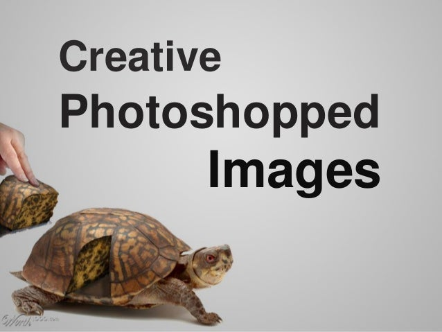 Photoshopped Images Creative