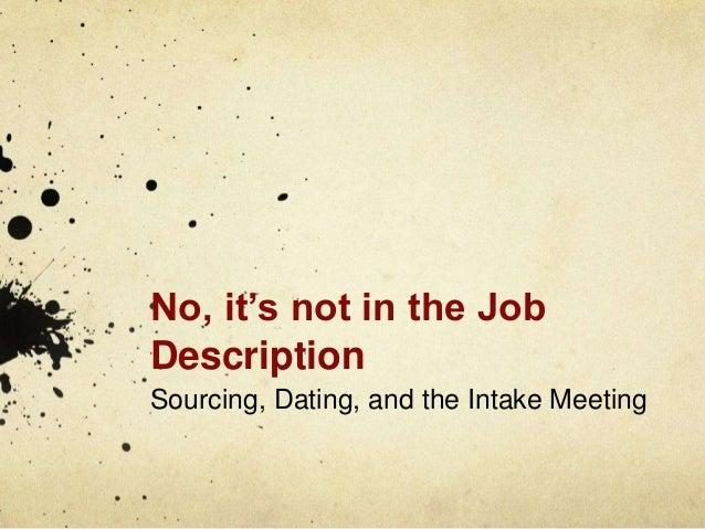 TMA dating