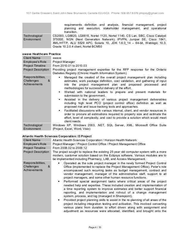 hopey peter project resume format v1 4