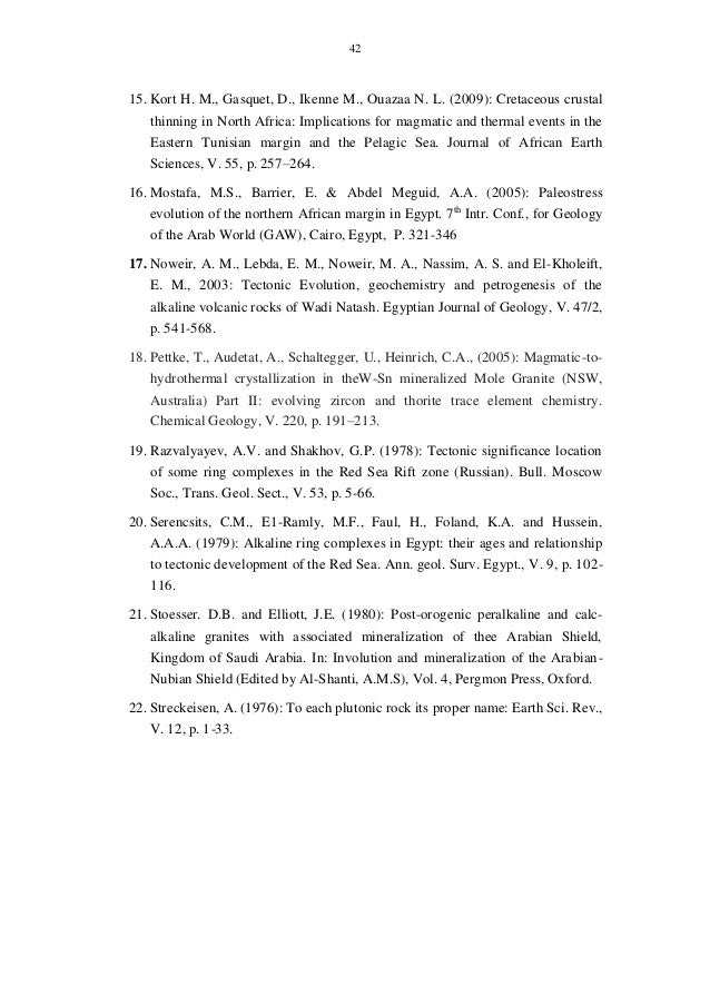 Tectonic Framework Of East Gabal Nuqra Area South Eastern Dese