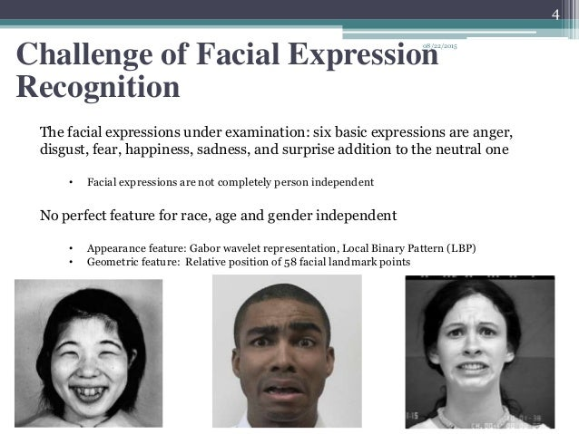 Facial expressions recognition so?