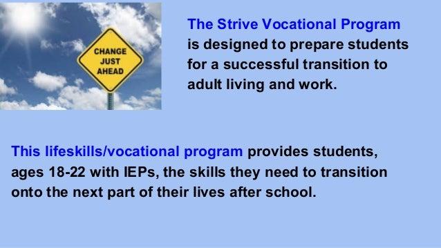 Special Education Transition Program Presentation