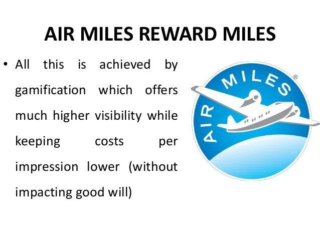 Air miles reward miles - Gamification in customer engagement - Manu Melwin Joy