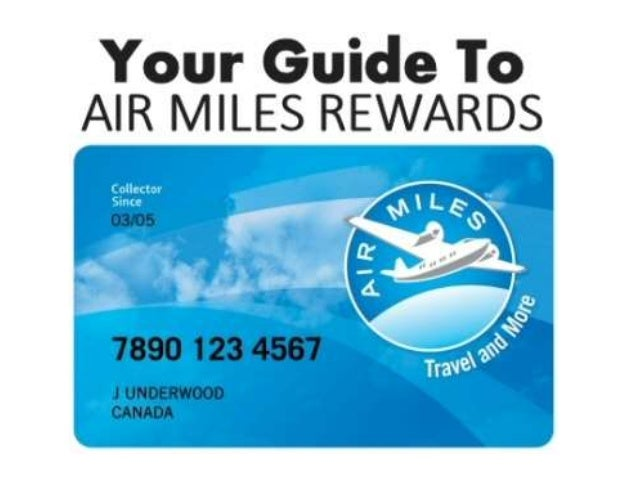 AIR MILES REWARD MILES • Air Miles recognizes that the impact of its loyalty program is ultimately driven by earning and s...