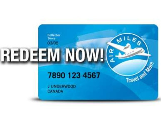 AIR MILES REWARD MILES • By creating a competitive element between members, Air Miles will drive check-in (and hence visit...