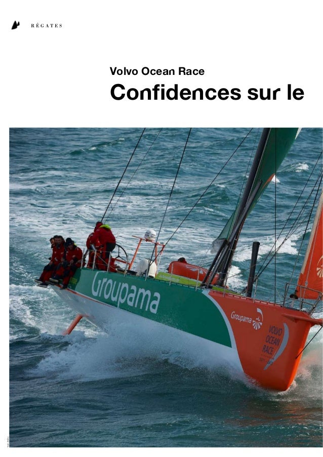 skippersR É G A T E SVolvo Ocean RaceConfidences sur le