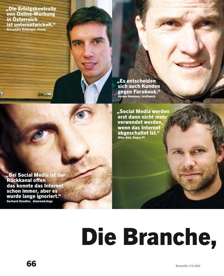 """""""Die Erfolgskontrolle von Online-Werbung in Österreich ist unterentwickelt."""" Alexander Reiberger, Fonda                   ..."""