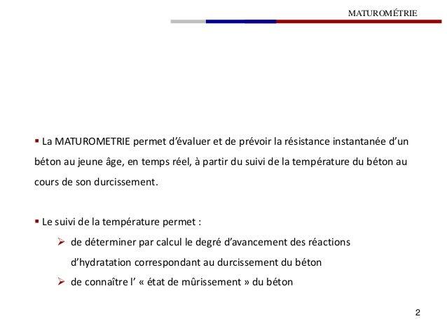 6.6 maturométrie Slide 2