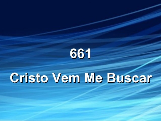 661661 Cristo Vem Me BuscarCristo Vem Me Buscar