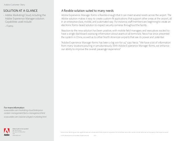 Adobe Customer Story Adobe Systems Incorporated 345 Park Avenue San Jose, CA 95110-2704 USA www.adobe.com For more informa...
