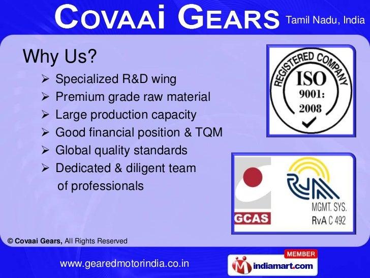 Geared Motor by Covaai Gears Coimbatore Slide 3
