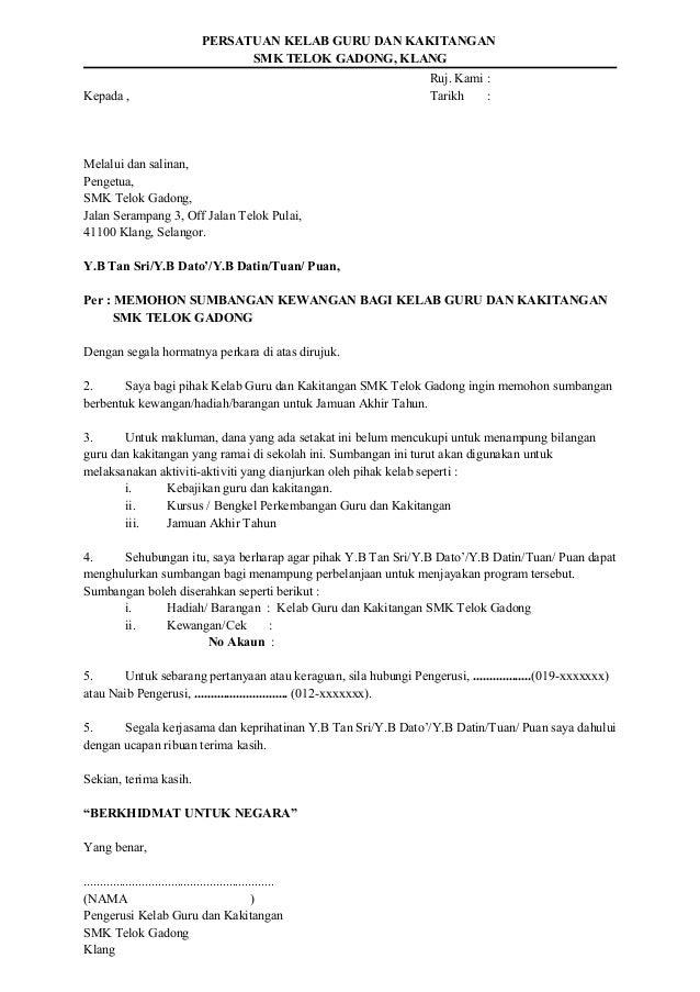 66361916 Contoh Surat Mohon Sumbangan