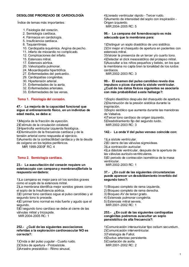 66415337 mir-cardiologia-preguntas-y-respuestas