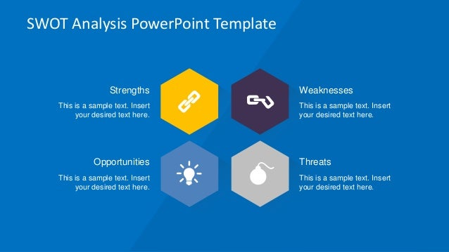 Slidemodel creative swot flat design diagram for powerpoint swot analysis powerpoint ccuart Image collections