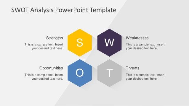 Slidemodel creative swot flat design diagram for powerpoint ccuart Choice Image