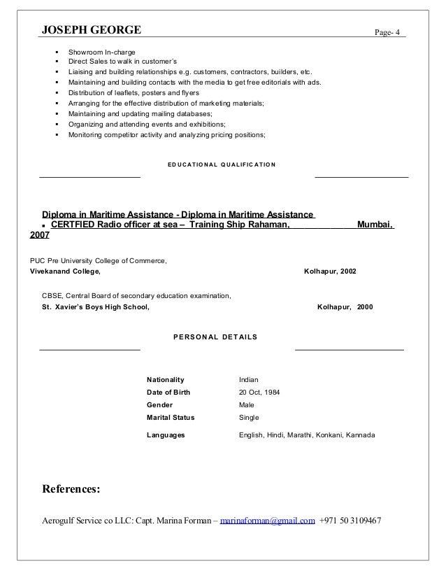 joseph kalure resume