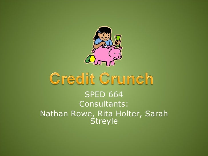 SPED 664          Consultants: Nathan Rowe, Rita Holter, Sarah            Streyle