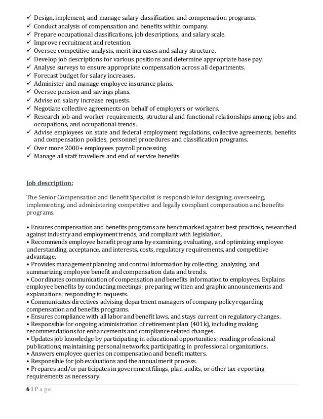 Afroz ahmed resume senior payroll officer compensation - Insurance compliance officer job description ...