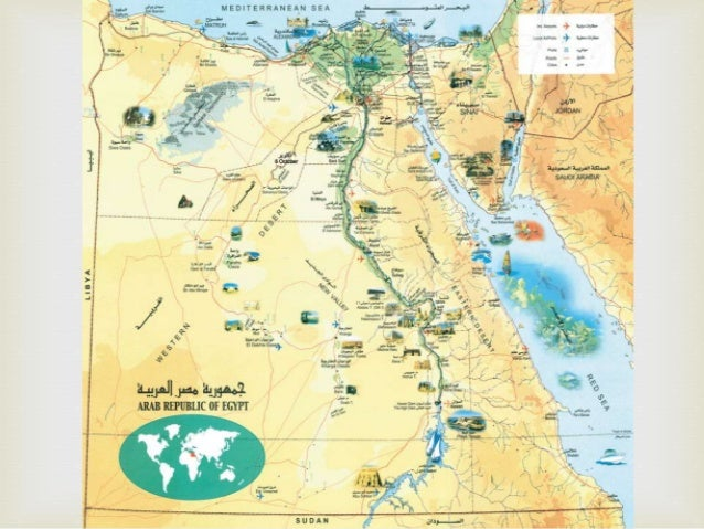 Ancientegypt - Map of egypt during the middle kingdom
