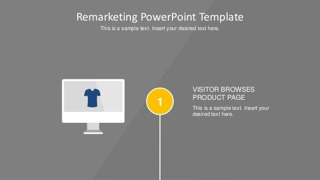 Flat Remarketing PowerPoint Template Slide 2