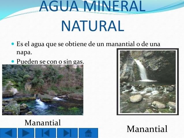 Power point el agua for De donde se obtiene el marmol
