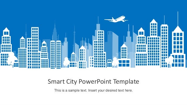 Slidemodel smart city powerpoint template smart city powerpoint template this is a sample text insert your desired text here toneelgroepblik Images