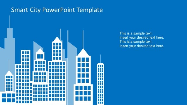 Slidemodel smart city powerpoint template 4 smart city powerpoint template this toneelgroepblik Gallery