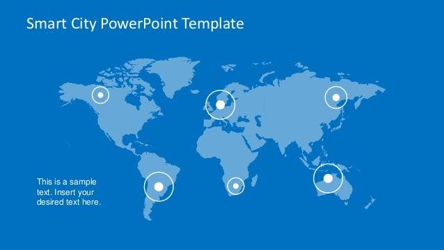 slidemodel - smart city powerpoint template, Modern powerpoint