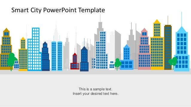 slidemodel - smart city powerpoint template, Powerpoint templates