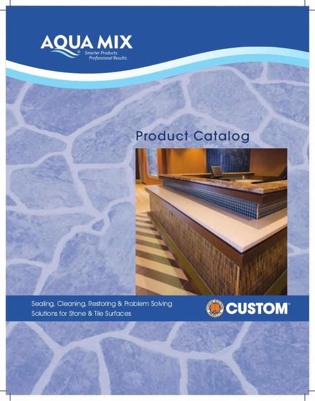 Aqua Mix® Product Catalog 2014