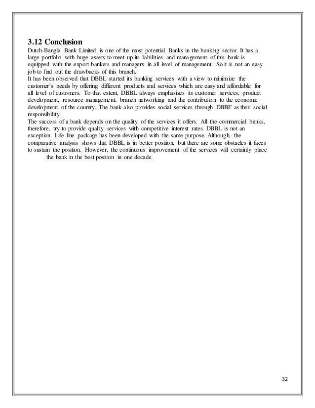 Term paper on dutch bangla bank