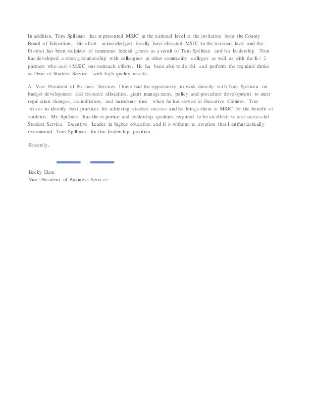 Becky Elam Letter of Recommendation Generic – Generic Letter of Recommendation