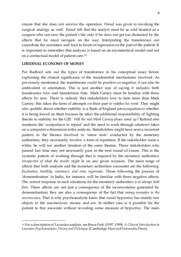 transference countertransference and resistance in precious essay Some more powerful ideas about therapy processes such as the psychodynamic perspective of transference, countertransference, interpretation, free association and resistance presents even further methodological issues for researchers (mcleod, 2011).