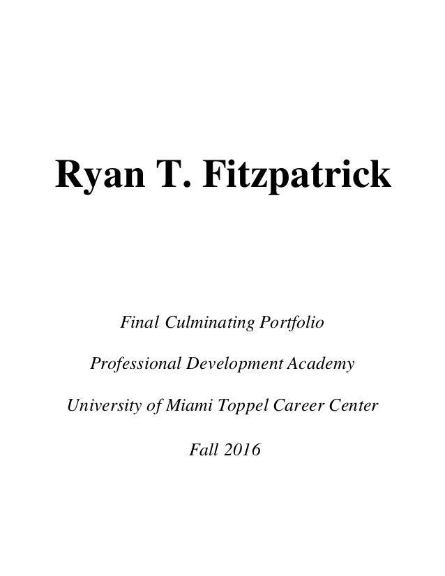 Ryan Fitzpatrick Final Portfolio