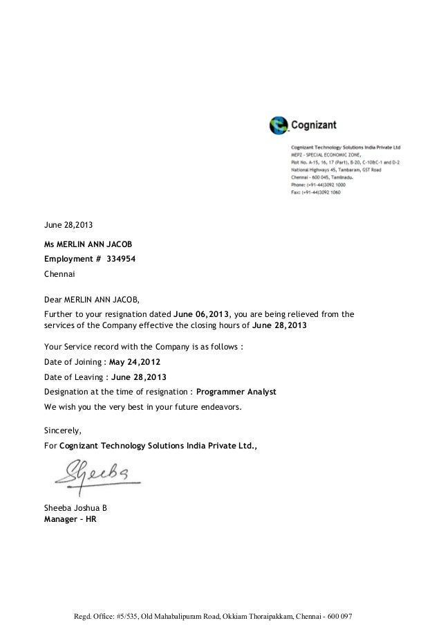 employee termination letter 10 free word pdf documents employment – Employment Separation Letter Sample