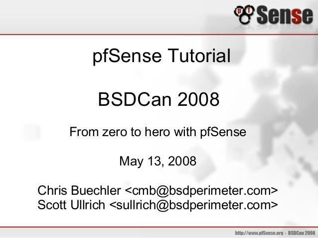 66 pfsense tutorial