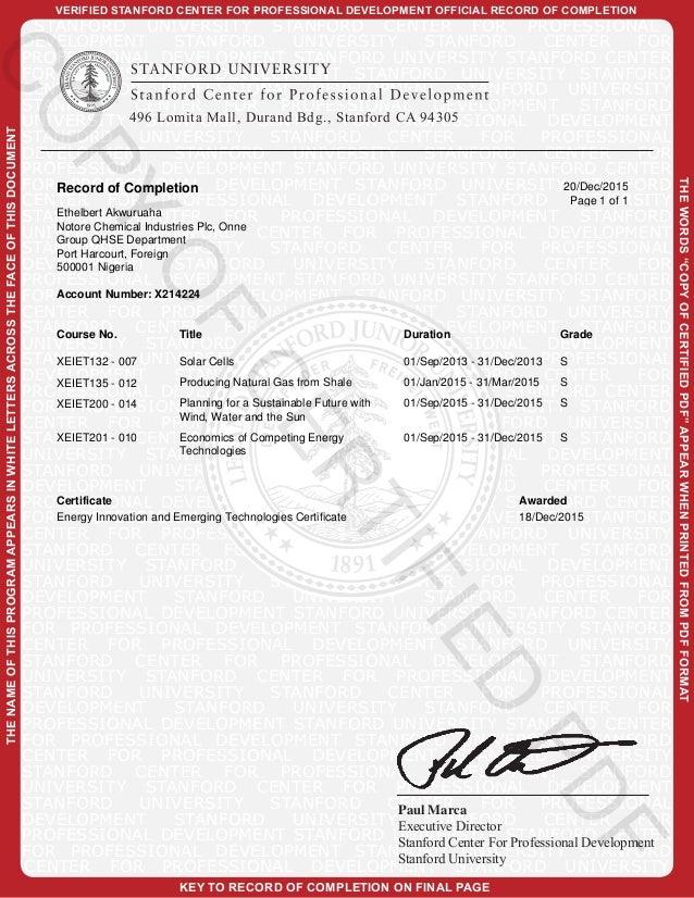 certificate stanford graduate computing quantum