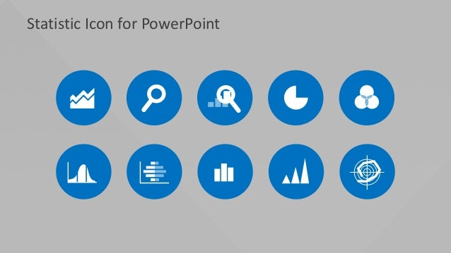 Statistic Icon for PowerPoint
