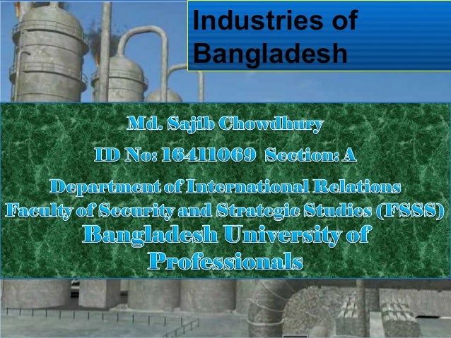 Industries of Bangladesh